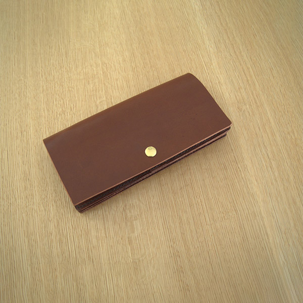 レザークラフト型紙_薄い長財布